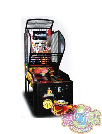 视频篮球机模拟游戏机